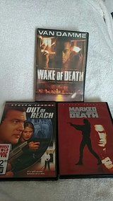 Seagal & Van Damme DVDS in 29 Palms, California