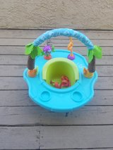 Baby Seat Infant Floor Activity Play Support Chair Tray Safety Toy in Camp Pendleton, California