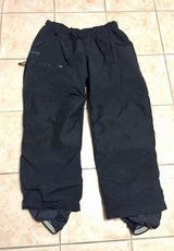 Columbia Mens Size XL Black Ski Snow Pants in Glendale Heights, Illinois