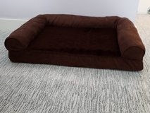 Plush Brown Pet Bed Sofa - Small in Plainfield, Illinois