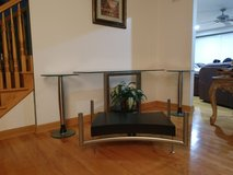 4 piece glass table set in Plainfield, Illinois