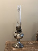 Vintage Nickel Aladdin Oil Lamp in Fort Campbell, Kentucky