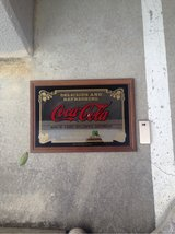 coca cola collection mirror frame in Okinawa, Japan