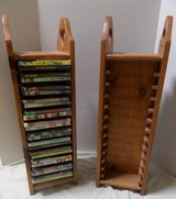 Hand Made Pair of Wood DVD Holders in Kingwood, Texas