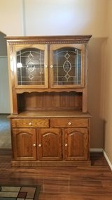 Dining room table and Hutch in Pearland, Texas