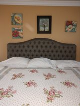 king size tufted headboard in Lockport, Illinois