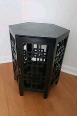 black end table in Plainfield, Illinois