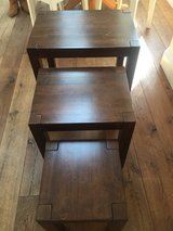 3 Nesting End Tables-- Must sell before 23 April 19 in Lakenheath, UK
