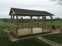 New 10'x16' Pavilion in Fort Leonard Wood, Missouri