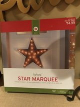 New Lighted Star Marquee - Indoor/Outdoor in Glendale Heights, Illinois