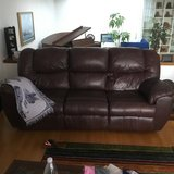 Leather Couch & Loveseat Recliners in Ramstein, Germany