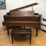 Baby Grand Piano, Antique in Ramstein, Germany