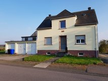 House  - 3 garages - 4 bedrooms - to rent in Orenhofen in Spangdahlem, Germany
