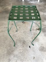 wrought iron side table/planter in Warner Robins, Georgia