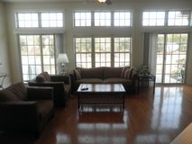 Pier One Couch with four cushions and two matching chairs in Wilmington, North Carolina