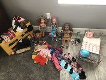 American girl doll collection in 29 Palms, California