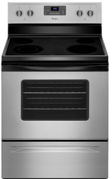 Whirlpool glasstop stove in Fort Campbell, Kentucky