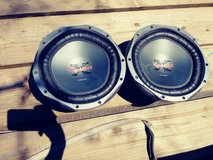 (2) subwoofer 12 inch in Cherry Point, North Carolina