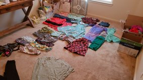 entire women's wardrobe edit in Camp Pendleton, California