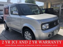2 YR JCI AND 2 YR WARRANTY!! 2007 NISSAN CUBE!! FREE LOANER CARS AVAILABLE NOW!! in Okinawa, Japan