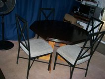 (3) DINING/KITCHEN TABLE SETS & FOLDING TABLE in Hampton, Virginia