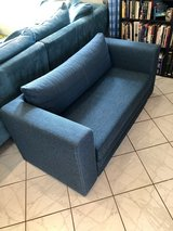 IKEA Small Blue Couch (ASKEBY) in Ramstein, Germany