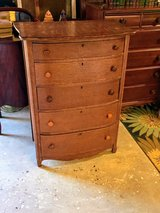 antique signed tiger oak dresser in Cherry Point, North Carolina