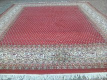 Old hand-knotted Indian Carpet Rug about 300 X 250 cm or 118 x 98 Inch. in Wiesbaden, GE