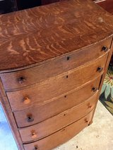 signed antique tiger oak dresser in Cherry Point, North Carolina
