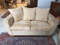 Love Seat Micro Suede in Ramstein, Germany