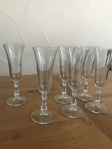 6 Champagne Glasses in Ramstein, Germany