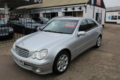 **Mercedes C200 Kompressor Automatic** in Lakenheath, UK