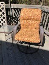 Furniture: Deck/Patio Rocking Chair with Cushion and table in Quantico, Virginia