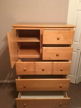 Solid Wood Dresser for Child in Alamogordo, New Mexico