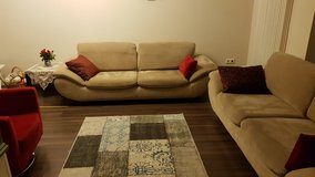 two sofas and barrel chair-Reduced in Ramstein, Germany