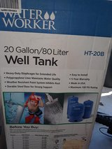 Water Worker 20 gallon well tank in Fort Campbell, Kentucky