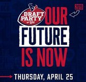 (1-8) Houston Texans 2019 NFL Draft Party Tix - Thurs, April 25 - Call Now! in Baytown, Texas