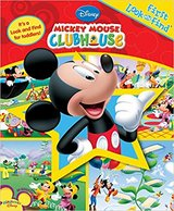Disney Mickey Mouse Club House First Look and Find for Toddlers Over Sized Board Book in Morris, Illinois