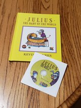 NEW Vintage 1990 Julius The Baby of The World Hard Cover Book & CD Combo Scholastic Listening Ce... in Oswego, Illinois