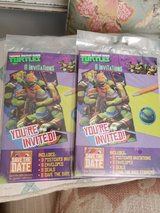 Ninja Turtles  Birthday Party Invitations (2 packs) in Byron, Georgia