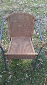 Nice wicker chair in Morris, Illinois