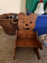 Toddler chair Kids Rocking chair wood in Byron, Georgia
