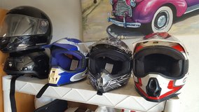 motorcycle helmets 5 to choise from in Camp Pendleton, California