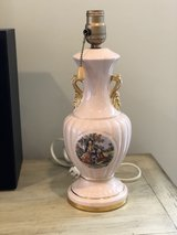 Vintage Pink Table Lamp in Fort Campbell, Kentucky