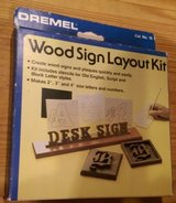 Wood Sign Layout Kit in Kingwood, Texas