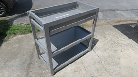 strong clean sturdy  nursery or changing station its on wheels in Okinawa, Japan