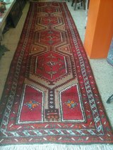 Old hand-knotted Persian Runner Carpet Rug about 425 X 107 cm or 167 x 42 Inch. in Wiesbaden, GE
