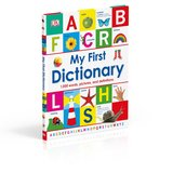 My First Dictionary 1,000 Words Pictures and Definitions Over Sized Hard Cover Book Age 5 - 9 * ... in Oswego, Illinois