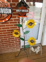 Harley Davidson birdhouse in Fort Campbell, Kentucky