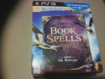 Ps3 Hogwarts Book of Spells in Beaufort, South Carolina